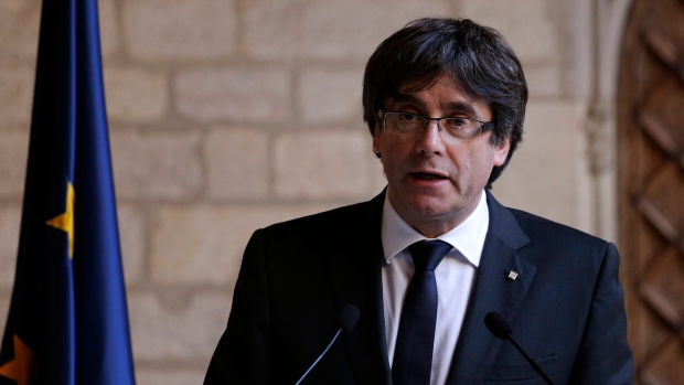 Catalan leaders meet in Brussels