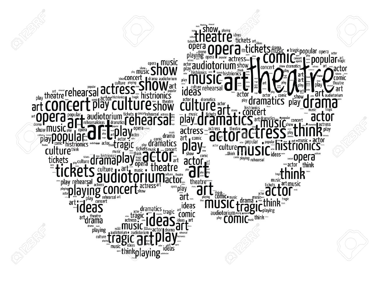 theater vocabulary essay Range of activities available for developing english skills through drama   introduce the vocabulary by showing the word cards and checking students.